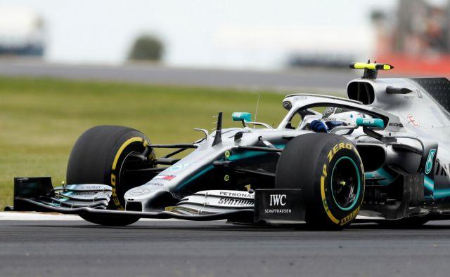 Valtteri Bottas je bil najhitrejši v sobotnih kvalifikacijah. FOTO: Reuters