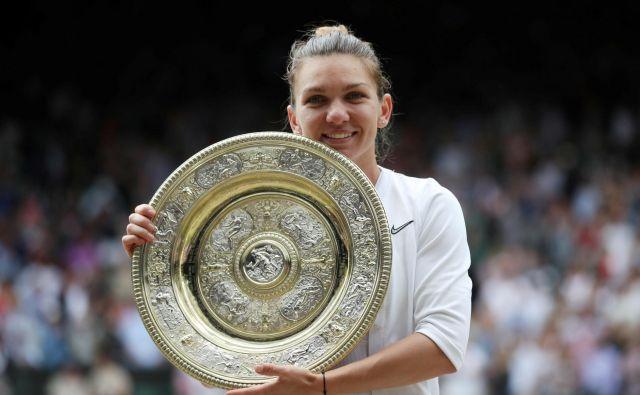 Simona Halep je z odlično igro osvojila svoj drugi turnir za veliki slam. FOTO: Reuters