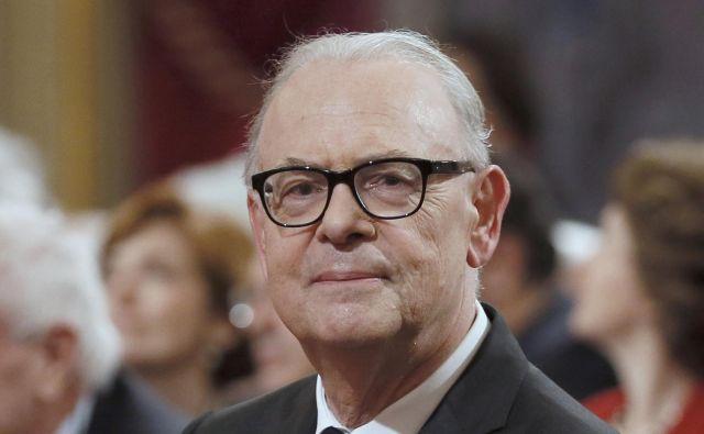 Triinsedemdesetletni pisatelj se bo na literarno jesen podpisal pod svoj 29. roman z naslovom Encre sympathique (Nevidno črnilo). FOTO: Reuters