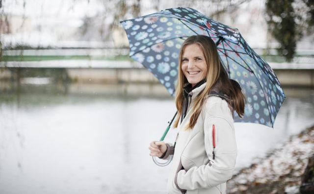 Irena Avbelj je nekdanja slovenska častnica in večkratna svetovna prvakinja v padalstvu. FOTO: Uroš Hočevar