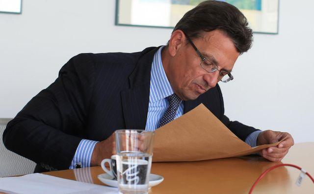 Slaba banka je v 2018, ko jo je še vodil glavni izvršni direktor Imre Baloh - odstopil je sredi lanskega decembra, po aferi s preprodajo zemljišča v Logatcu - kar dobičkonosno poslovala. Foto Tomi Lombar