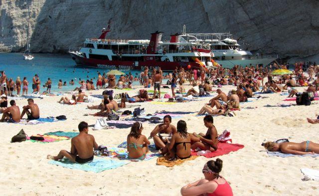 Letos je znova v porastu dopustovanje v Grčiji. FOTO: Blaž Samec