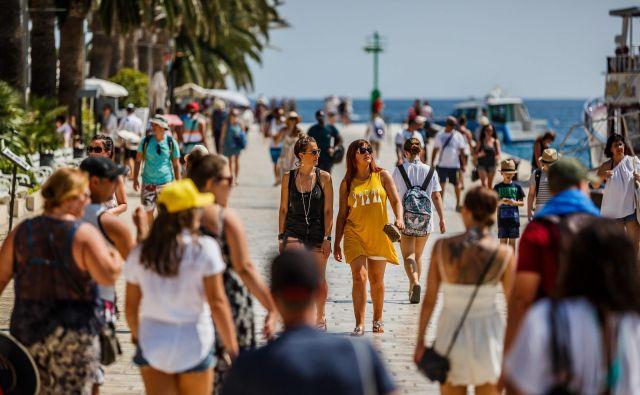 Še naprej na Hrvaškem prednjačijo nemški turisti, sledijo domači (hrvaški) gostje, Avstrijci in Slovenci. FOTO: Cropix