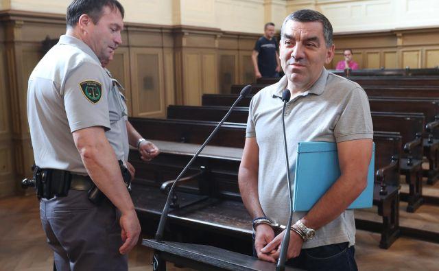 Pred leti je dejal v Jati, pozneje pa je bil stalno po sodiščih in zaporih, priznava Milorad Draganič. FOTO:Dejan Javornik