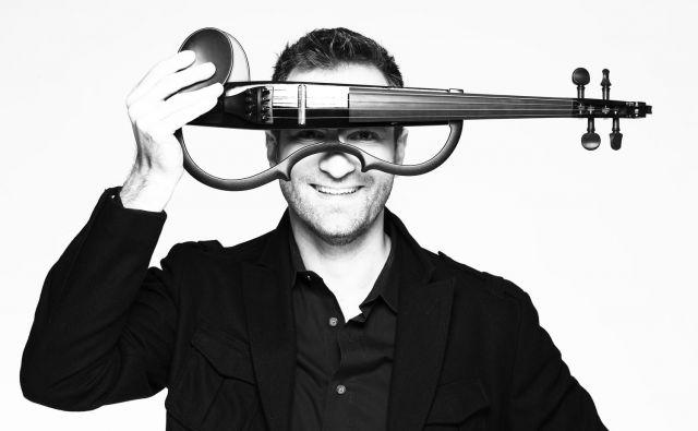 Stefan Milenkovich je razigrana svetovna violinska zvezda. Foto osebni arhiv