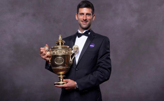 Novak Đoković bo čez dober mesec dni kot favorit začel tudi OP ZDA, kjer bi si lahko priigral že 17. naslov za veliki slam. FOTO: AFP