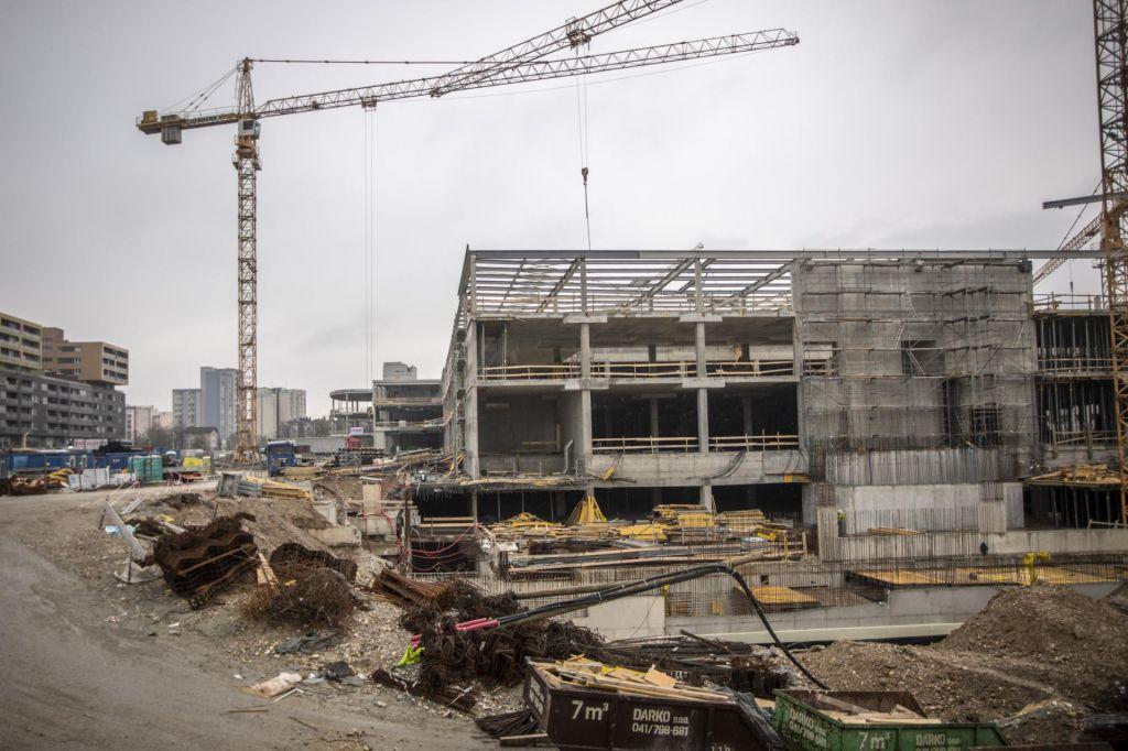 Gradbeništvo v enem letu zraslo za več kot desetino