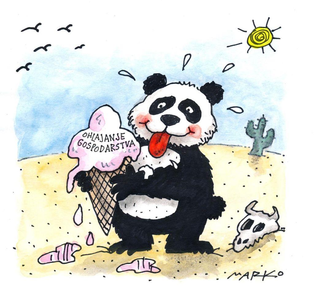 Udarec za kitajsko gospodarstvo