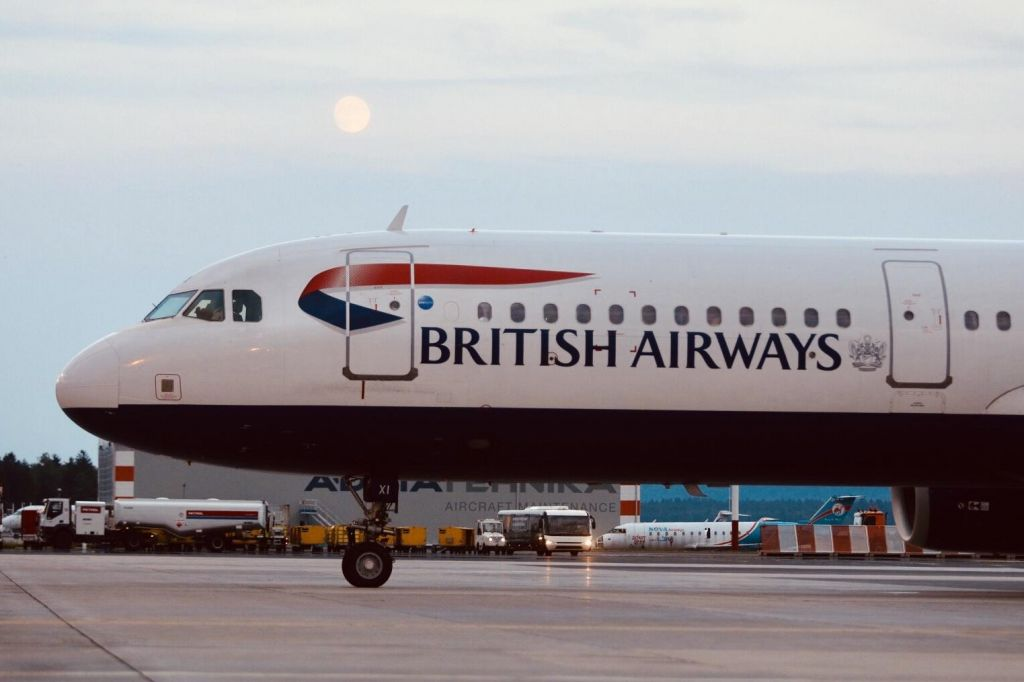 British Airways iz Heathrowa priletel na ljubljansko letališče