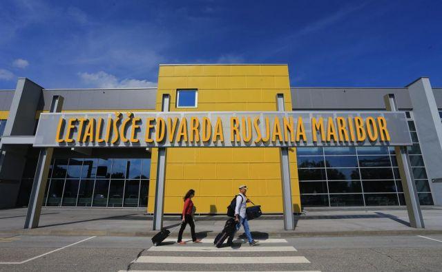 Mariborsko letališče potrebuje trajno rešitev za stabilno delovanje. Foto Tadej Regent/delo