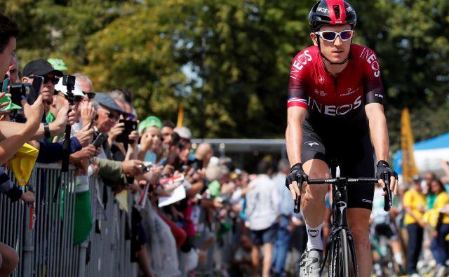 Geraint Thomas bi si težko želel boljših prvih 10 dni Toura.<br /> FOTO: Reuters