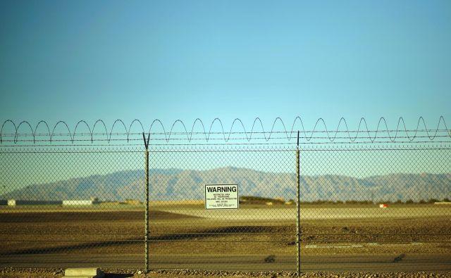 Na Območju 51 po teorijah zarote ameriška vojska skriva Nezemljane. FOTO: Shutterstock