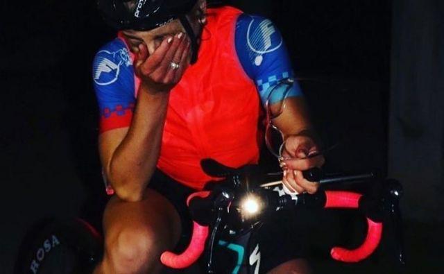 V ženski 12-urni preizkušnji je zmagala <strong>Maja Marukič </strong>(BK Dinamo, Hrvaška) s prevoženimi 429km (povprečna hitrost 34,7km/h) Foto: Fb Profil