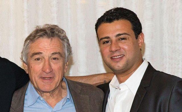 Oče in sin De Niro. FOTO: Hollywod Reporter