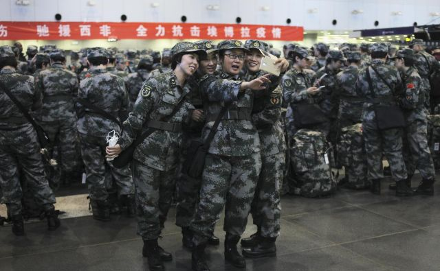 V mirovne misije v Afriki je trenutno vključenih približno 2000 kitajskih vojakov. FOTO: Reuters
