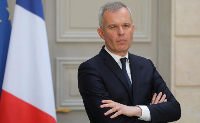 Po očitkih o zapravljanju odstopil francoski minister za okoljeFrançois de Rugy. Foto: Reuters