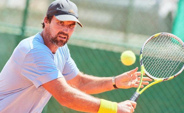 Patrick Rafter se v Umagu pripravlja na jutrišnjo ponovitev finala Wimbledona 2001 proti Goranu Ivaniševiću. FOTO: ATP Umag 2019