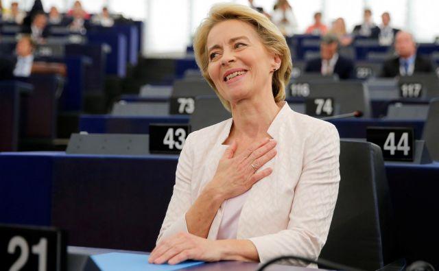 Izvoljena je bila le z 9 glasovi večine. FOTO: Vincent Kessler/Reuters