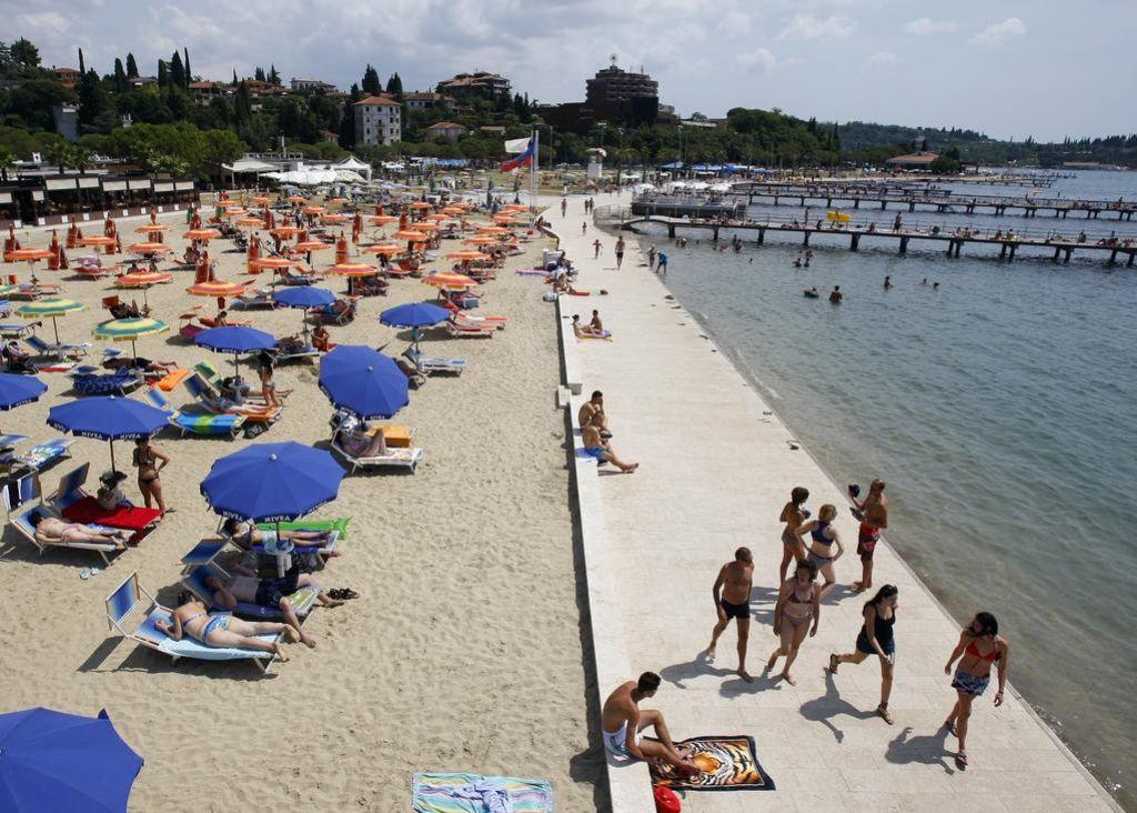 Slovenija ima najbolj čista morska kopališča v EU