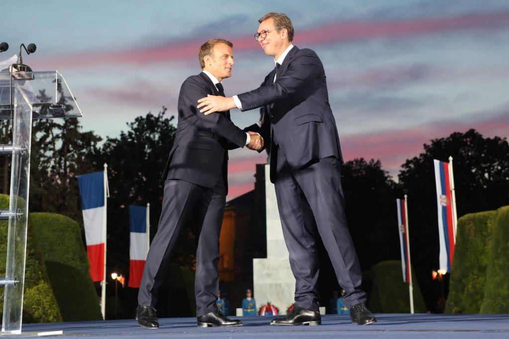 Srbija pri reševanju kosovskega vozla računana Francijo
