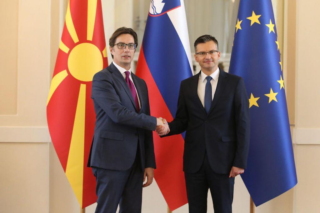 FOTO:Šarec vratar Severne Makedonije v EU