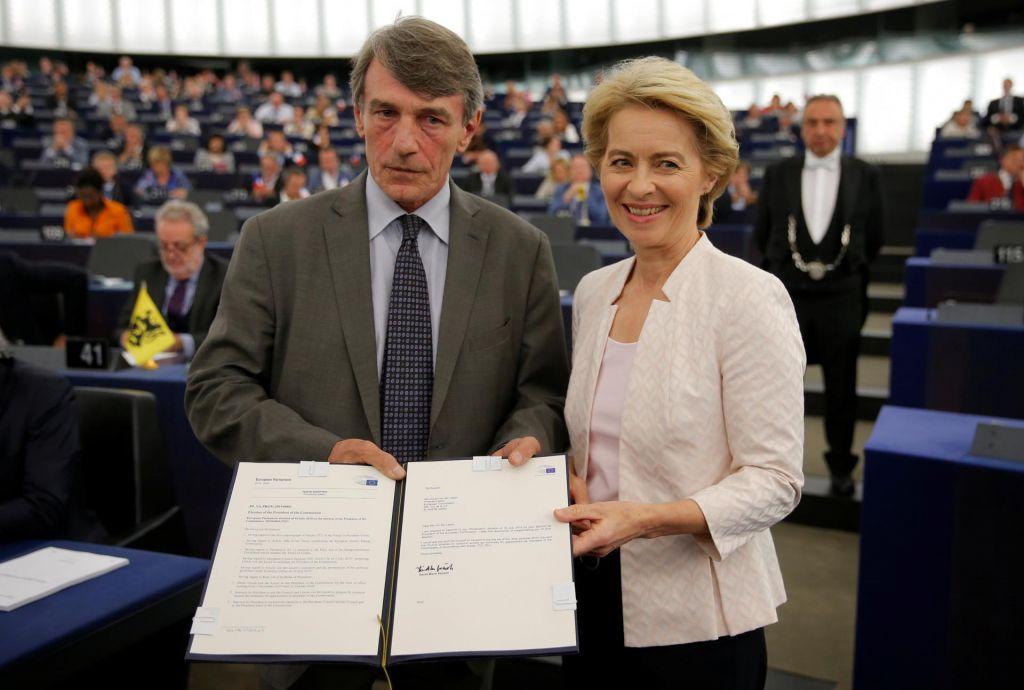 Ursula von der Leyen želi združiti Evropo
