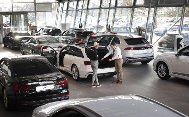 V Sloveniji se je v prvem polletju število novoregistriranih vozil na letni ravni zmanjšalo za 4,4 odstotka. FOTO: Leon Vidic/Delo