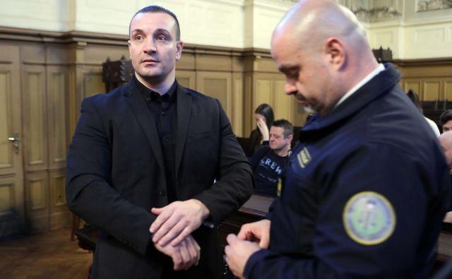 Mervan Šljivar je bil oproščen krivde zaradi streljanja na Fužinah, obsojen pa zaradi umora v Bosni. FOTO: Igor Mali