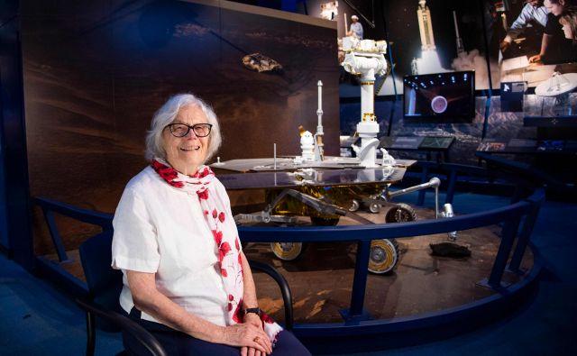 Sue Finley je sodelovala v ekipah, ki so poslale vesoljska plovila na Luno in do Jupitra, Marsa, Merkurja, Neptuna, Saturna, Urana in Venere. FOTO: AFP