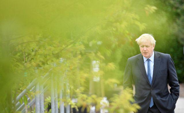 Boris Johnson bo prihodnji teden skoraj gotovo potrjen kot vodja britanske konservativne stranke. FOTO: Reuters