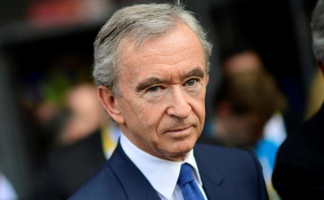 Letošnje leto je bilo še posebej uspešno za francoske podjetnike. Štirinajst najbogatejših Francozov je ustvarilo skoraj 70 milijard evrov dobička. FOTO: Pool New/Reuters