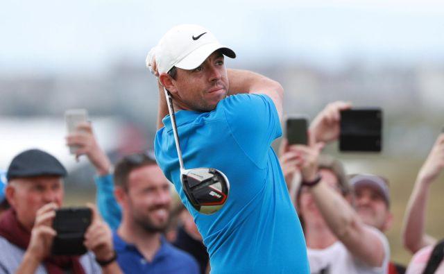 Rory McIlroy, ki še nikoli ni igral majorja na severnoirskih tleh, bi se rad izkazal. FOTO: Reuters