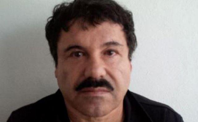 El Chapo na fotografiji s prejšnjega procesa. FOTO: Afp