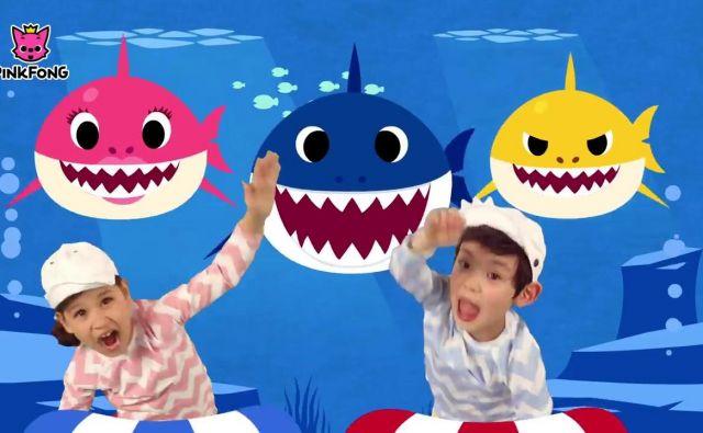 Najbolj obiskan video pesmi Baby Shark je na youtubu videlo že tri milijarde ljudi. FOTO: Youtube
