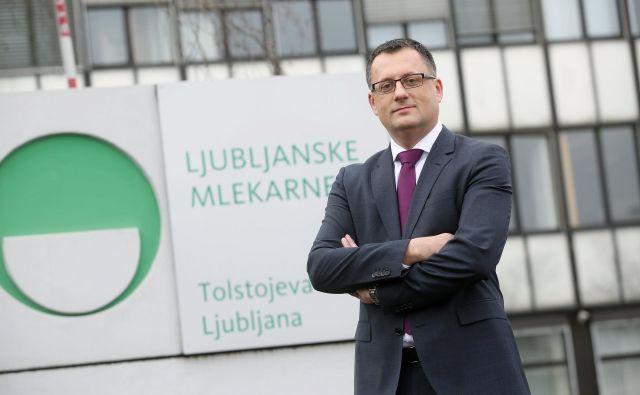 Tomaž Žnideršič Ljubljanske mlekarne Foto Arhiv Podjetja