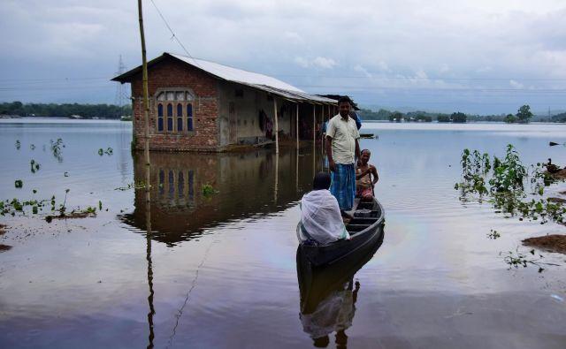 Indijska zvezna država Assam. FOTO: Anuwar Hazarika/REUTERS