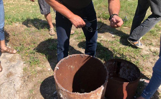 Kerozin se ni premaknil bližje vodarni, v vrtini P19 je drugo mineralno olje. FOTO: Marina Jelen/občina Koper