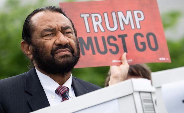 Teksaški kongresnik Al Green. FOTO:Saul Loeb/AFP
