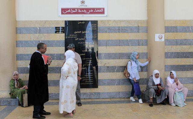 Primer je močno razburil maroško javnost. FOTO: Youssef Boudlal Reuters