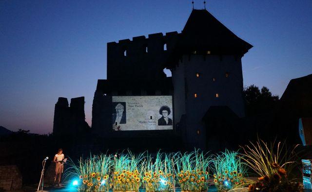 Jože Volfand, prokurist podjetja Fit media in idejni oče Zlatnika poezije in Veronikine nagrade na lanski podelitvi nagrad na celjskem Starem gradu. FOTO: Brane Piano