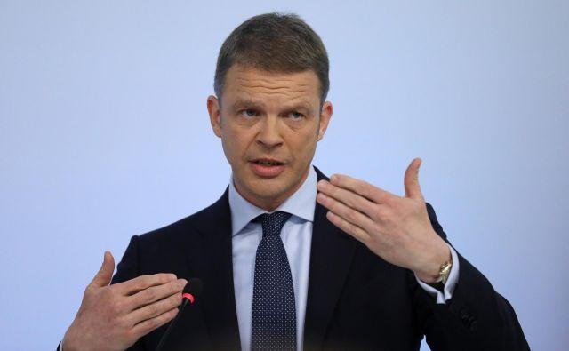 Christian Sewing se pripravlja na radikalno prestrukturiranje in sanacijo banke. Foto Reuters