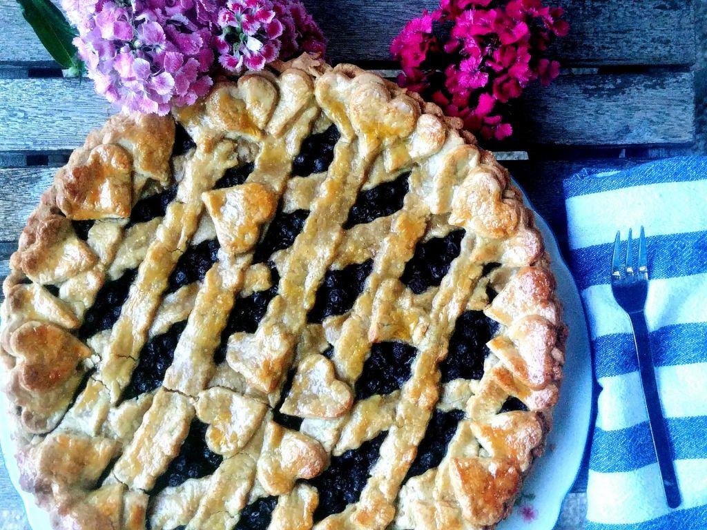FOTO:Poletov recept: Borovničeva pita