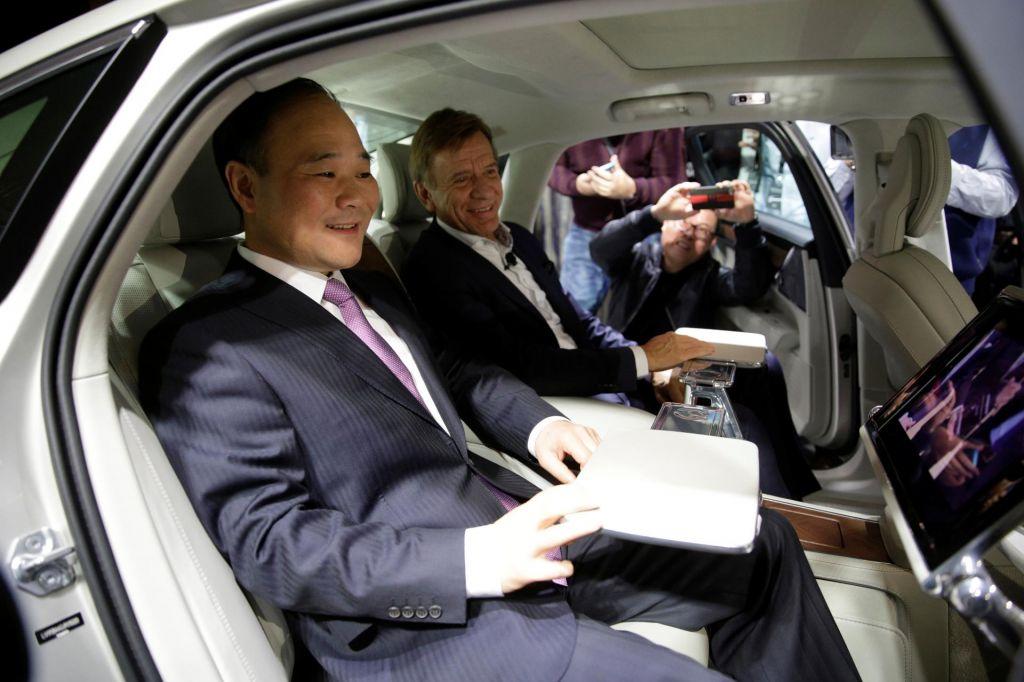 FOTO:Li Shufu, kitajski avtomobilski zmaj