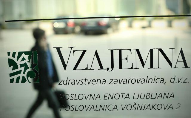 Zdravstvena zavarovalnica Vzajemna s septembrom občutno draži premijo. FOTO: Jure Eržen