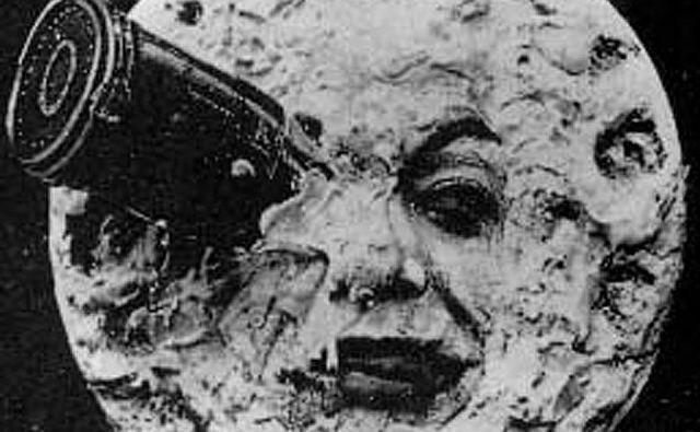 Sloviti prizor iz filma Potovanje na Luno. Foto Wiki
