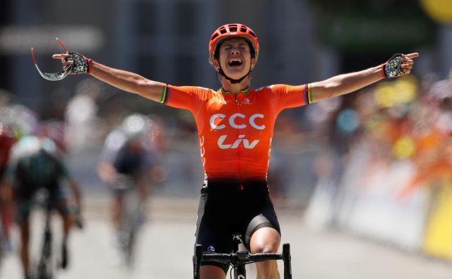 Marianne Vos nadaljuje s fantastičnimi predstavami v tej sezoni. FOTO: Reuters