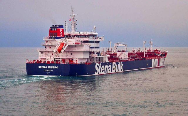 Posadka zajetega tankerja Stena Impero šteje 23 ljudi, nihče med njimi ni Britanec. FOTO:Reuters