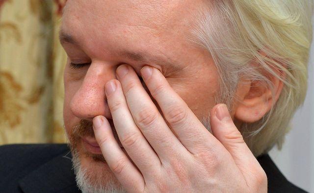 Assangeeva usoda je proticivilizacijska odločitev, ki je v nasprotju s temeljno zavezo po pravu in pravici. Foto AFP