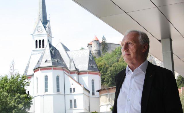 Otmar Zorn podjetnik in hotelir. Foto Mavric Pivk
