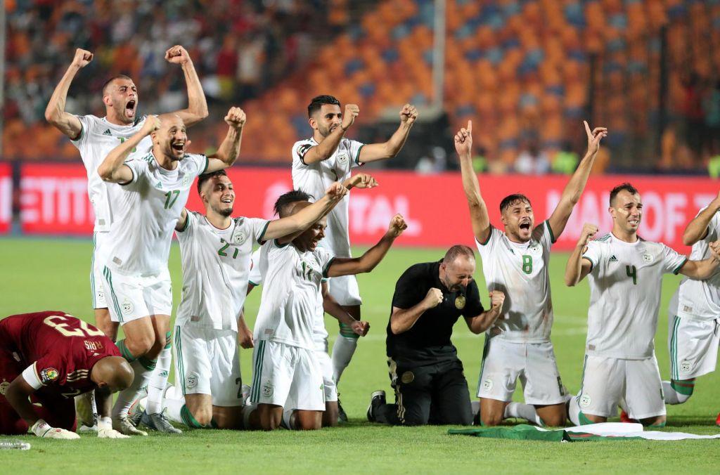 Srečni zgodnji gol dovolj za veliko slavje Alžircev